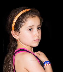 girl at Greek fest AZ 6295