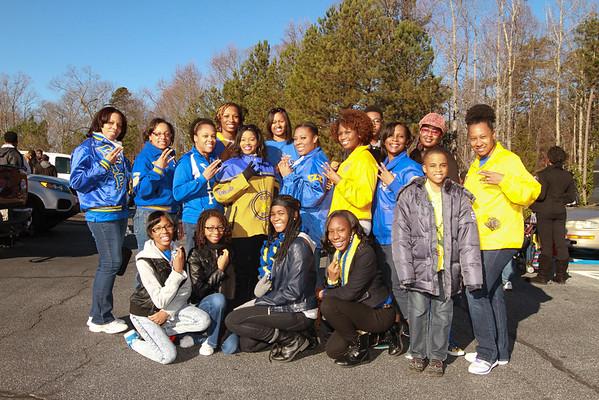 MLK Day Parade Lawrenceville , GA 1-20-2015