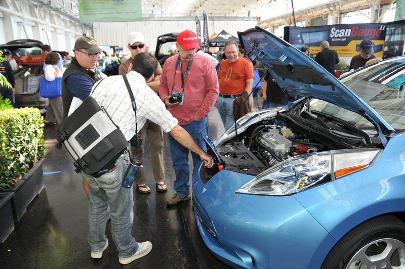 Green Drive Expo Oct. 9, 2010. Craneway Pavilion, Richmond, CA