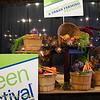 Organic Gardening and Urban Farming Pavilion. Green Festival 2010, Concourse Exhibition Center, 635 8th St. (at Brannan), San Francisco, California.