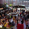 Main atrium with Registration. Green Festival 2010, Concourse Exhibition Center, 635 8th St. (at Brannan), San Francisco, California.