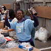 Green Team recycling station. Green Festival 2010, Concourse Exhibition Center, 635 8th St. (at Brannan), San Francisco, California.