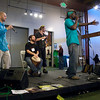 Seasonz performing on Music Stage. San Francisco Green Festival 2009, Concourse Exhibition Center, 635-8th St., San Francisco, California.