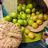 Rainbow Grocery squash and apples. San Francisco Green Festival 2009, Concourse Exhibition Center, 635-8th St., San Francisco, California.