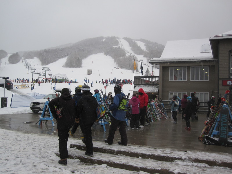 First Day of new lift Green Peak