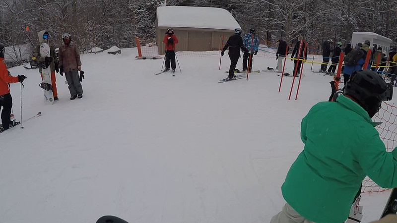 First ride on First Day of Green Peak