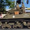 WWII Stuart tank.