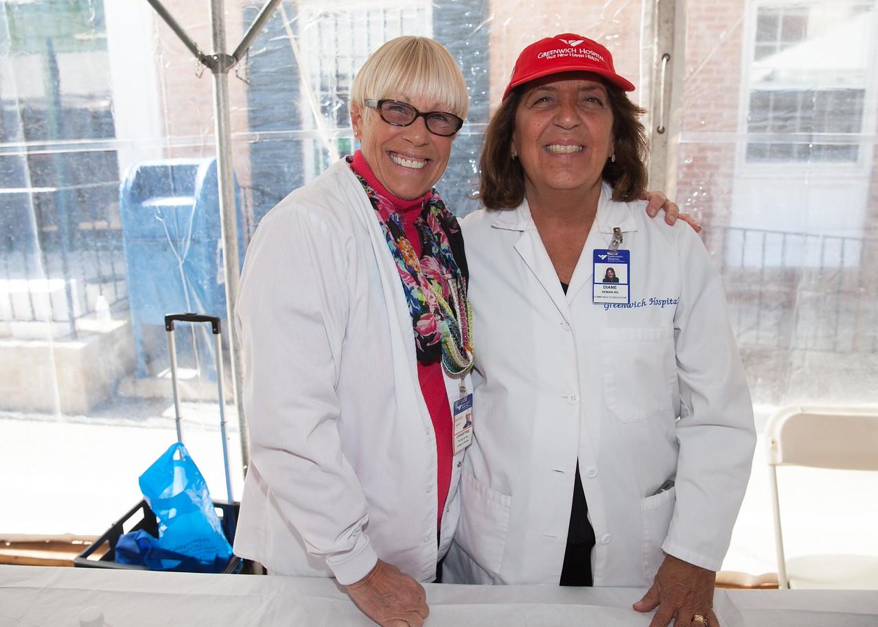 IMG_6006 Christine Pickens and Diane Demain