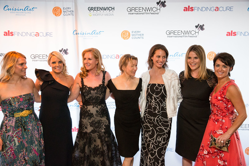 5D3_8591 Eliza Niblock, Ginger Stickel, Colleen deVeer, Renee Zellweger, Christy Turlington, Jenn Bush-Hager and Wendy Reyes