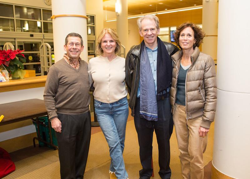 5D3_5921 Gene Rostov, Heather Knapp, John Dolan and Karen Kline