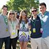 IMG_0943 Sam Vallely, Carly Finnegan, Megan Murphy, Cameron Pursa and Spiker Hayden