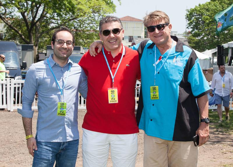 IMG_1447 Elie Korkmaz, Moez Bousarsar and Joe Hill