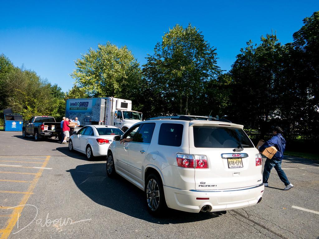 Greenwich Township Shredding Day 2017