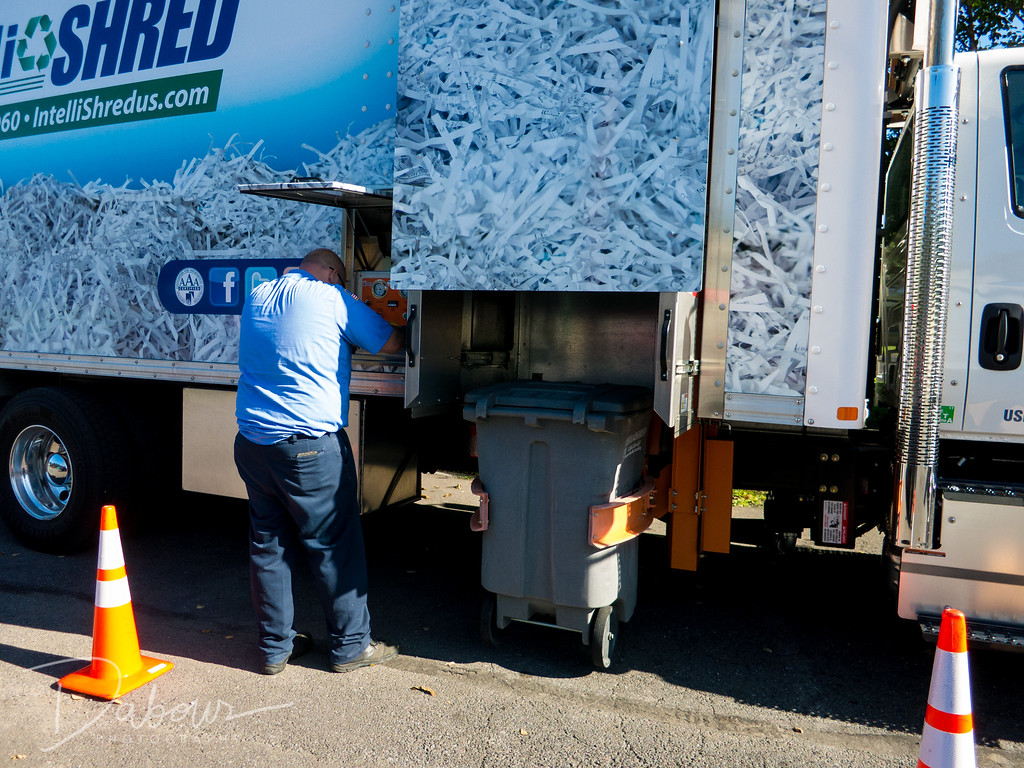 Greenwich Township Shredding Day 2017