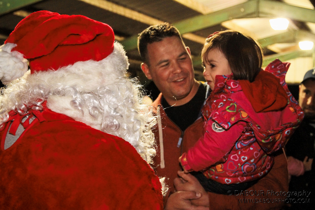 Greenwich Twp. residents gather for the 4th annual Christmas Tree lighting. Santa Claus make a surprise visit!