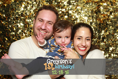 Greyson's 1st Birthday - 12/18/16
