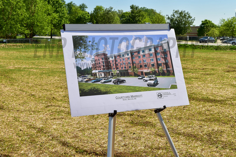 Ground Breaking for Courtyard Marriott