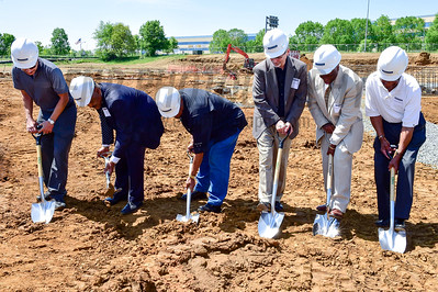 Ground Breaking for Courtyard Marriott Bowie 4/28/17