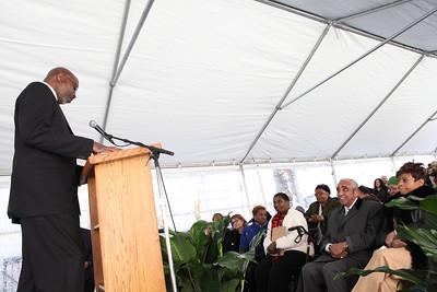 Donald Notice, Executive Director of West Harlem Group Association (WHGA).