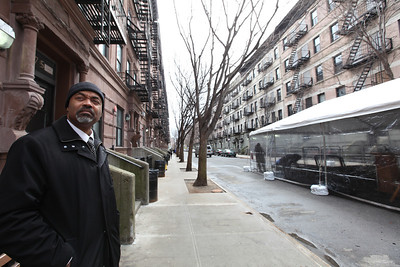 Security Manager of A. Philip Randolph Housing Projects, Curtis Cabell