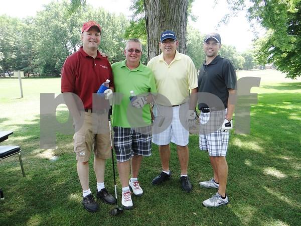 Bryon Koopman, Jeff Mickelson, Jeff Conrad, and Cory Buscher.