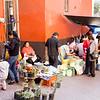 Street food is big here