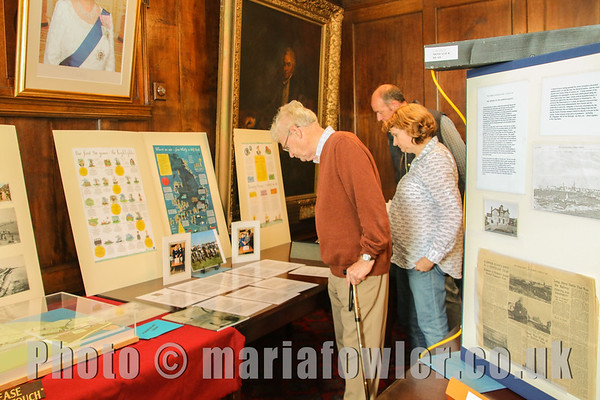 "Sat 13th & Sun 14th September 2014Harwich Town Council again supported National Heritage Weekend by opening the historic Guildhall to the public free of charge.The Guildhall was open to the public from 2.30PM -4.30PM on both Saturday 13th and Sunday 14th September to view the Napoleonic carvings cut into the wooden walls by French prisoners around 200 years ago.As part of the Guildhall opening Harwich Town Council's honorary archivists, Ray Plummer and Anne Kemp-Luck staged an exhibition in the council chamber featuring important local historic anniversaries as well as significant documents including the original King James I charter of 1604.Ray Plummer says ""The Guildhall is a fascinating building and houses Harwich Town Council's remarkable archive. It is always a pleasure to stage this exhibition and to bring Harwich's incredible history to life for our visitors.""For further information please contact Press Officer Garry Calver on 01255 551940"