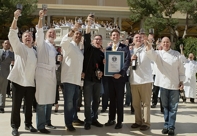 Guinness World Record Broken at Bellagio