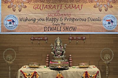 Gujarati Samaj of Sacramento Diwali 2016