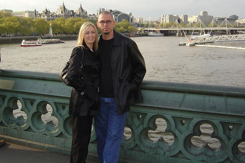 Us and the Thames.