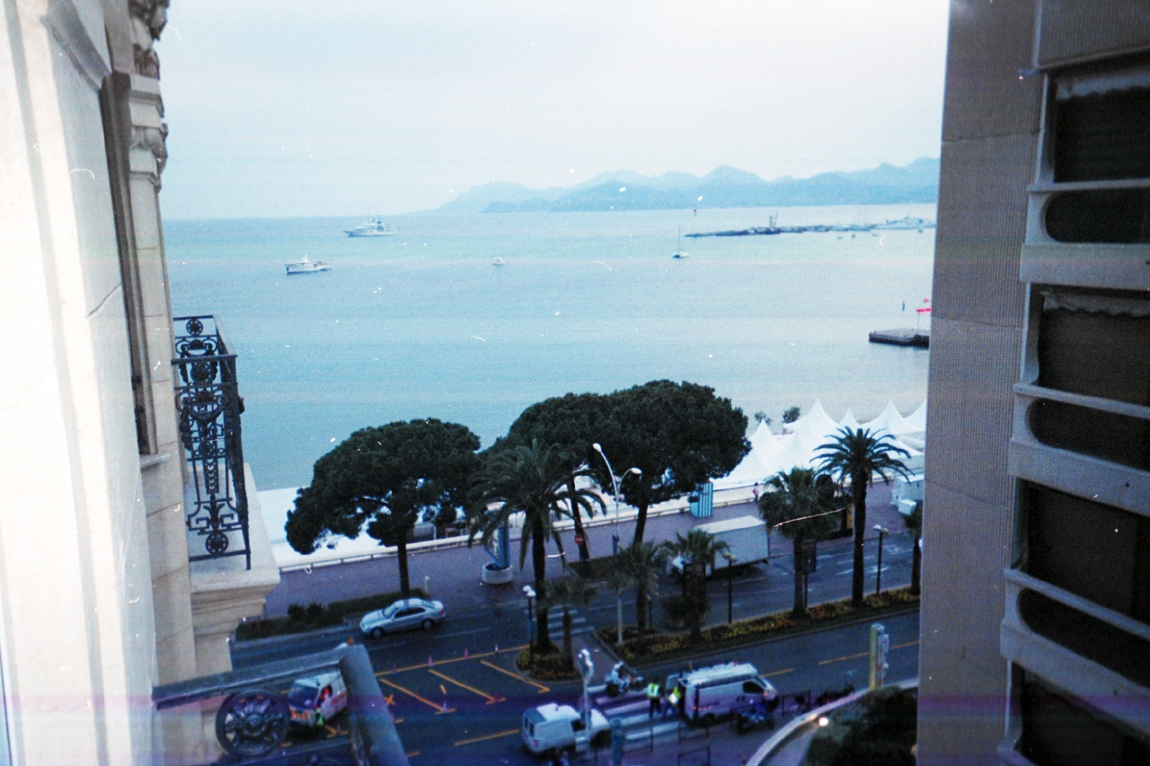 Our view in Cannes.