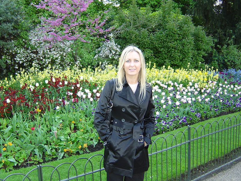 I think this was called St. James garden. It was a huge park with beautiful flowers and such green grass.