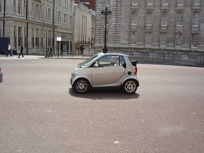 The first SmartCar we saw.