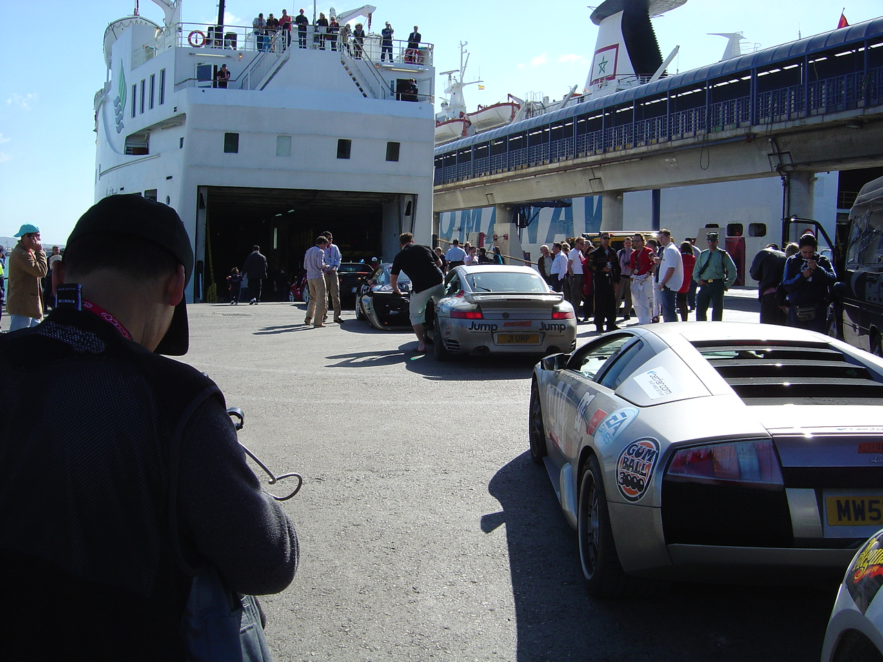 The loading process went smoothly with all the low clearance cars on the bottom and everyone else on the second tier.