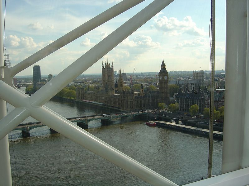 There is Big Ben and the Parliament building.