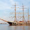 Swedish tall ship Gunilla visits Charleston, SC