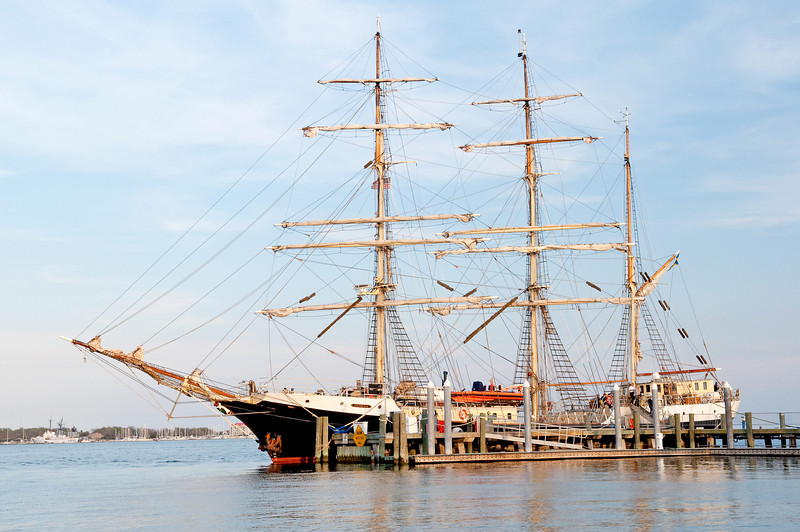 Swedish tall ship Gunilla visits Charleston, SC