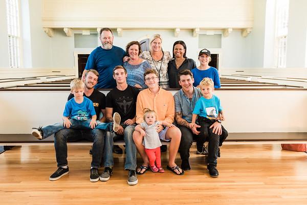 Gunner Simons - Surprise visit from family