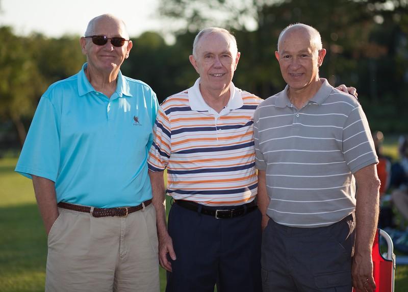 IMG_9978 Jim Grandolfo, Joe Franklin and Vince Cama