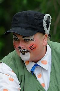 """Morten Skogmus: Mari Cathrine Brostuen Hagen Gjøvik Sommerteater 2012:  """"ALLE DYRENE I HAKKEBAKKESKOGEN"""" Gjøvik Gård 30/06/2012   ---   Foto: Jonny Isaksen"""