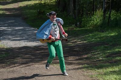 KLATREMUS OG ALLE DE ANDRE DYRENE I HAKKEBAKKESKOGEN Norsk Sceneskrekk  - Bassengparken Gjøvik 26/06/2015  --- Foto: Jonny Isaksen