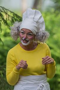 Bakermester Harepus: Nina Eileen Sponnich KLATREMUS OG ALLE DE ANDRE DYRENE I HAKKEBAKKESKOGEN Norsk Sceneskrekk  - Bassengparken Gjøvik 22/06/2016  --- Foto: Jonny Isaksen