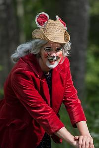 Bestemor Skogmus: Janka Stensvold Henriksen  KLATREMUS OG ALLE DE ANDRE DYRENE I HAKKEBAKKESKOGEN Norsk Sceneskrekk  - Bassengparken Gjøvik 22/06/2016  --- Foto: Jonny Isaksen