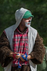 Bamsefar: Nils Jørgen Nygaard KLATREMUS OG ALLE DE ANDRE DYRENE I HAKKEBAKKESKOGEN Norsk Sceneskrekk  - Bassengparken Gjøvik 22/06/2016  --- Foto: Jonny Isaksen