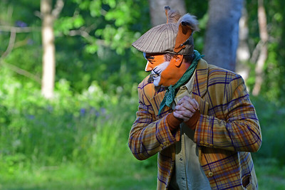 KLATREMUS OG DE ANDRE DYRENE I HAKKEBAKKESKOGEN Norsk Sceneskrekk  - Bassengparken Gjøvik 26/06/2017  --- Foto: Jonny Isaksen
