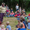 KLATREMUS OG ALLE DE ANDRE DYRENE I HAKKEBAKKESKOGEN<br /> Norsk Sceneskrekk  - Bassengparken Gjøvik 24/06/2014<br />  --- Foto: Jonny Isaksen