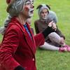 Bestemor Skogmus: Nina Sponnich<br /> KLATREMUS OG ALLE DE ANDRE DYRENE I HAKKEBAKKESKOGEN<br /> Norsk Sceneskrekk  - Bassengparken Gjøvik 24/06/2014<br />  --- Foto: Jonny Isaksen