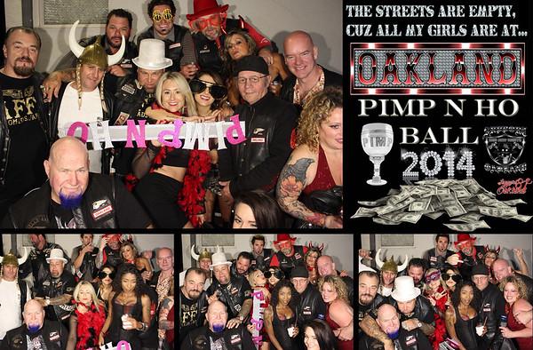 HAMCO Annual Pimp N Ho Party 10.18.14 Photo Strips