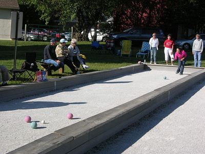Honey Brook held its annual September bocce tournament Sept. 14 in the borough park.