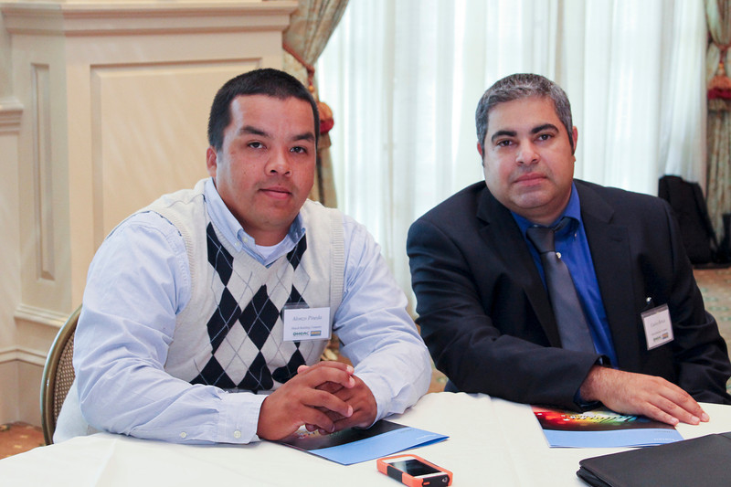 2012 HCAC Brilliance Awards: Trade Contractor of the Year Award Winners, Alonzo Pineda and Carlos Renza, V.P., Hitech Building Company